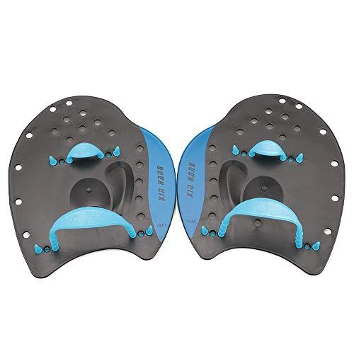 Ruoxiang Schwimmpaddel für Kinder und Erwachsene, professionelles Training, mit Handschellen, S