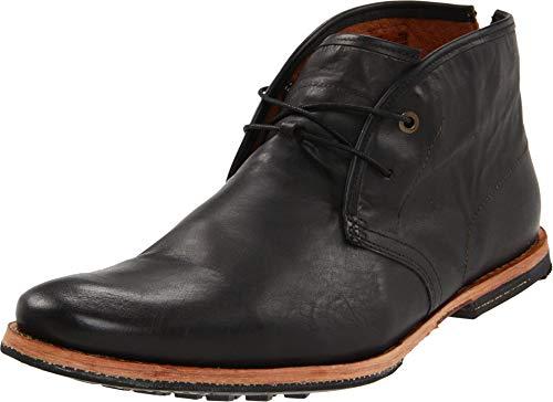 Timberland Men's Wodehouse Chukka Boot Premium Casual Shoes (8M US, Black)