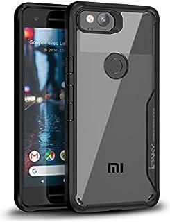 IPAKY Super Armor Xiaomi Redmi 4X Clear Case Cover - Black