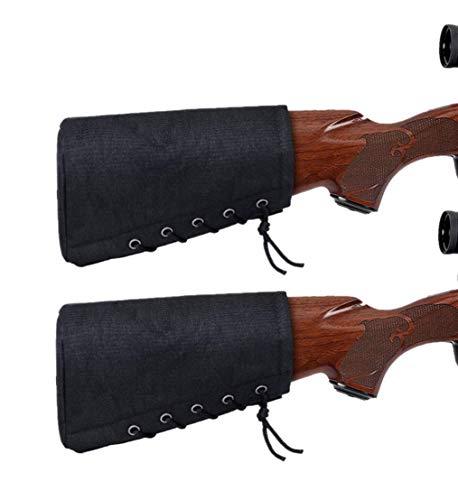 Protector de extensión de Cubierta de Culata de Almohadilla de Retroceso de Rifle de Caza para escopetas tácticas, 2 Piezas