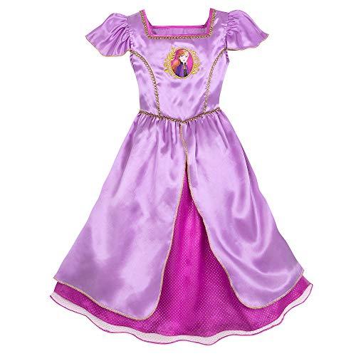 Disney Anna Nightgown for Girls – Frozen II- Size 5/6 Multi