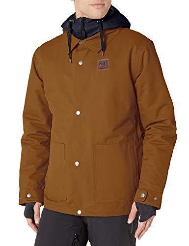 AIRBLASTER Herren Work Jacket Lightly Insulated Outerwear Snowboard-Jacken, Grizzly, XLarge