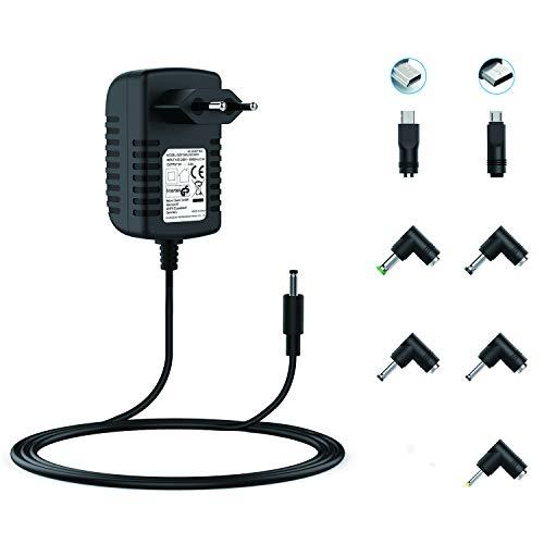 NEUE DAWN 5V 3A Universal Adapter Netzteil für Raspberry Pi 3 Heim-Elektronik Router Lautsprecher LCD-Fernseher Kameras TV-Boxen USB-Hub und weitere 5V Kleine Elektronikgeräte mit 7 Tipps DC Stecker