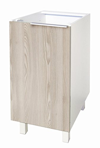 Berlioz Creations CP4BF - Mueble bajo de Cocina con 1 Puerta, 40 x 52 x 83 cm