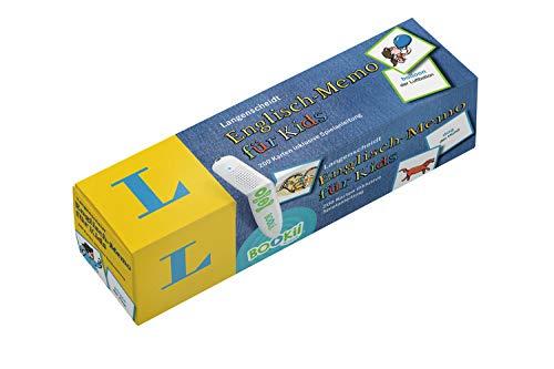 Langenscheidt Englisch-Memo für Kids - zum Spielen & Lernen: 200 Karten und Spielanleitung (Langenscheidt Vokabel-Memo für Kids)