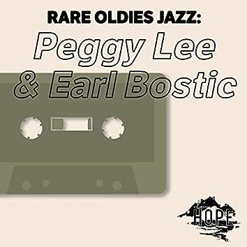 Rare Oldies Jazz: Peggy Lee & Earl Bostic