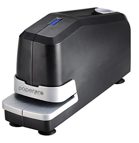 PaperPro 02210-220V-EU - Grapadora eléctrica, con compartimiento magnético, 30 hojas, color negro