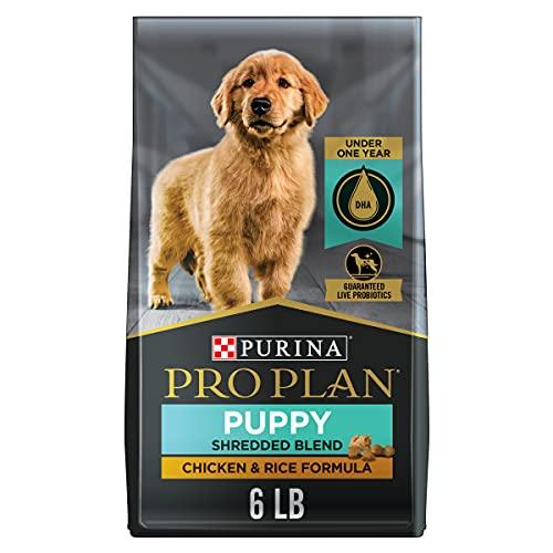 Purina Pro Plan High Protein Puppy Food Shredded Blend Chicken & Rice Formula - 6 lb. Bag