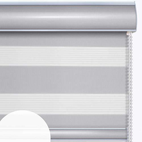 YAGEER Lichtvorhang Rollos Vorhang Vorhänge Schlafzimmer Vorhänge Halbschatten Doppeljalousien Vorhang (Color : G, Size : 120 * 210cm)