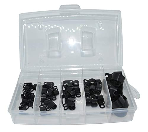 5er Set Kunststoff Rohrschellen Chassiklemmen Kabelschellen Befestigungsschellen