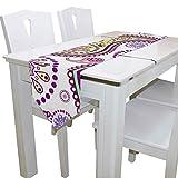 N/A Esstischläufer oder Kommode Schal, einfache Paisley-Tischdecke, Tischläufer für Hochzeit, Party, Bankett, Dekoration, 33 x 229 cm
