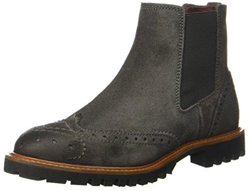 Marc O'Polo Damen Chelsea Boot, Grau (Dark Grey), 41 EU