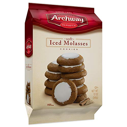 Archway Iced Molasses Cookies, 12.0-Oz Bags (Pack of 12)