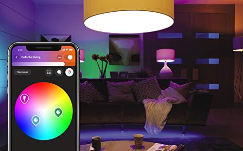 Philips Hue LED Lampe E27, 3. Generation, Einzellampe, dimmbar, 16 Mio Farben, app-gesteuert - 2