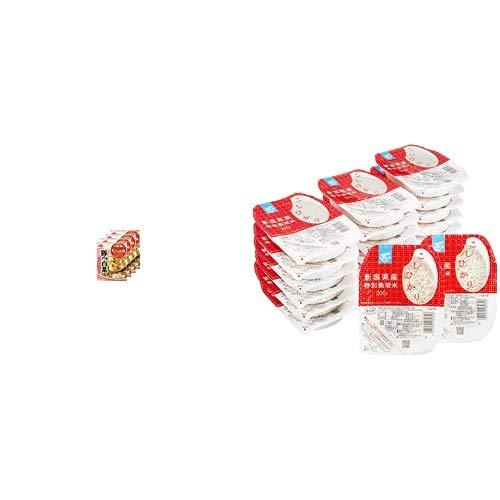 味の素 Cook Do きょうの大皿 豚バラ白菜用 110g×4個 + Happy Belly パックご飯 新潟県産こしひかり 200g×20個(白米) 特別栽培米