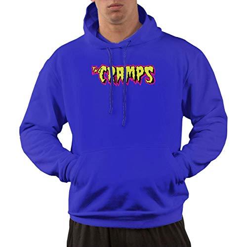 Tengyuntong Hombre Sudaderas con Capucha, Sudaderas, Men's Pullover Hooded Sweatshirt - The Cramps