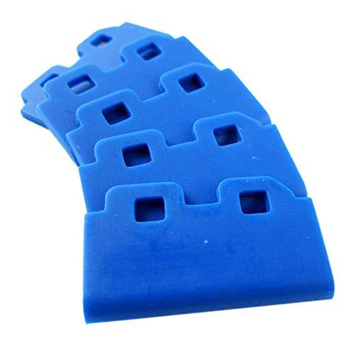 Fransande - Lote de 10 piezas de goma para limpiaparabrisas Roland FH-740 Mimaki Jv33 / JV5 / CJV30 para impresoras de inyección de tinta Mutoh DX5 / DX7