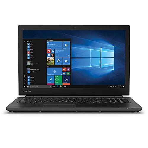 "Dynabook Toshiba Tecra A50-F 15.6"" Business Laptop Computer, Intel Celeron 4205U 1.8GHz, 4GB DDR4, 128GB SSD, WiFi 6, Bluetooth 5.0, Webcam, Remote Work, Windows 10 Pro Education, iPuzzle Mousepad"