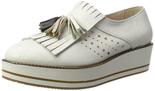 Tosca Blu Shoes Damen Cuba Libre Mokassin, Weiß (Bianco), 37 EU