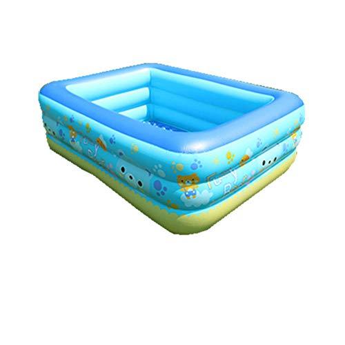 Topashe Piscina Hinchable para niños y Adultos,Piscina Inflable de PVC, Piscina ecológica-120 * 90 * 36 cm,Bañera Piscina de para Adultos