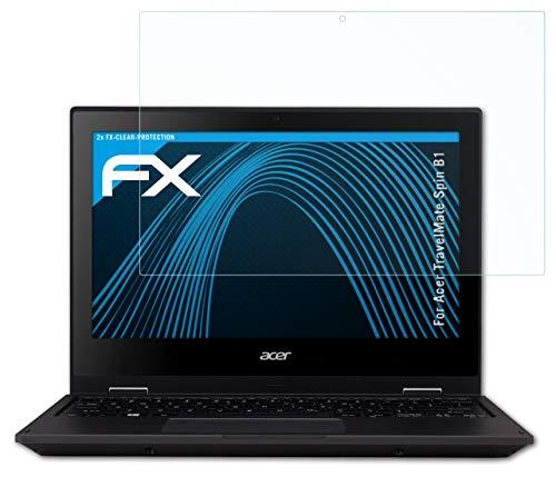 atFolix Schutzfolie kompatibel mit Acer TravelMate Spin B1 Folie, ultraklare FX Bildschirmschutzfolie (2X)