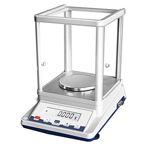ZCXBHD 0,001g precisieweegschaal instrument laboratorium apotheek sieraden analytische schaal elektronische weegschaal GRAF Tara-functie nauwkeurig 1 mg