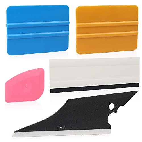 Ehdis Tint Squeegee Kit Window Tint Install Kit for Automobile Vinyl Film Wrap Trim Window Tint Works with Tint Squeegee Vinyl Scraper