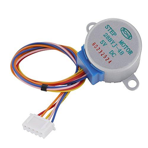 5 PCS/Set Stepper Motor,DC 5V 4-Phase 5-Wire Motore passo-passo Micro Riduzione Motore passo passo