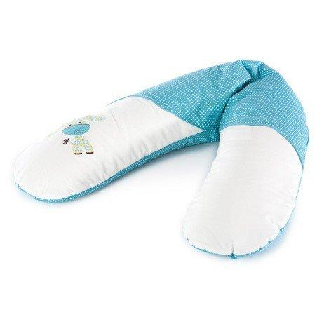 Theraline–Cuscino per allattamento, 190cm, con custodia, colore: blu
