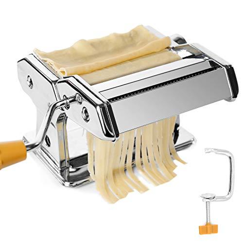 TAECOOOL Macchina per la pasta da cucina, professionale in acciaio inox, fatta a mano, per...