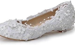 fdbc1dbbd09cf7 Ggx/Chaussures Femme Soie Talon compensé compensées talons Mariage/fête &  Soir/robe