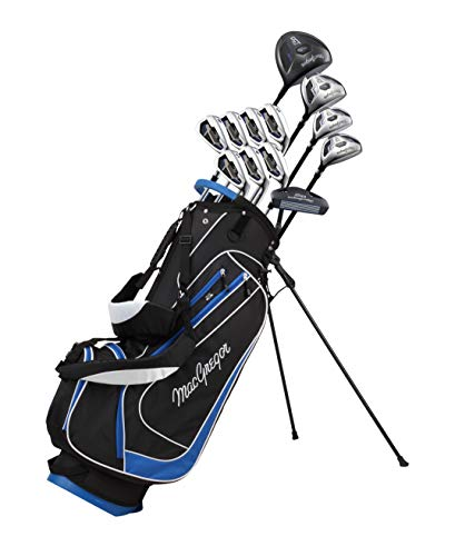 Magregor Men's DCT2000 Golf Club Package Set, Right Hand, Graphite, with Stand Bag