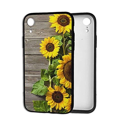Aurora Ni telefoonhoes, met planten thema zonnebloem, stootdichte beschermhoes, achterkant bumper, hoes voor iPhone Xr