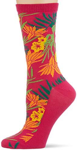 GANT Damen D2. Summer Intarsia Socks 1-Pack, Cabaret PINK, OneSize