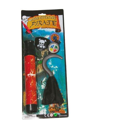 Guirca Set d'Accessoires de Déguisement de Pirate