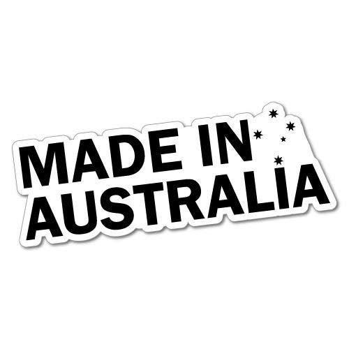H421ld Pegatina para ordenador portátil o coche con texto en inglés 'Made In Australia', australiano, Bogan Koala Vb Mate Cheers Kangaroo