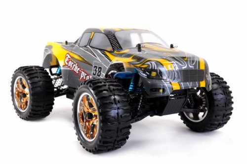 Amewi 22034 – Monster Truck Torche-Pro Brushless 2,4 GHz M 1 : 10 RTR (Couleurs Assorties)