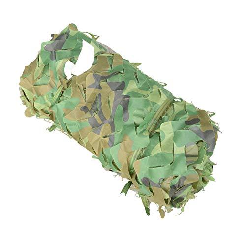 Schaduwnet buiten, Urwald, camouflage, schaduw, berg, greening, zonwering, schaduw, isolatie, verdikt vet, bedrukt, meerdere maten 8mx8m groen