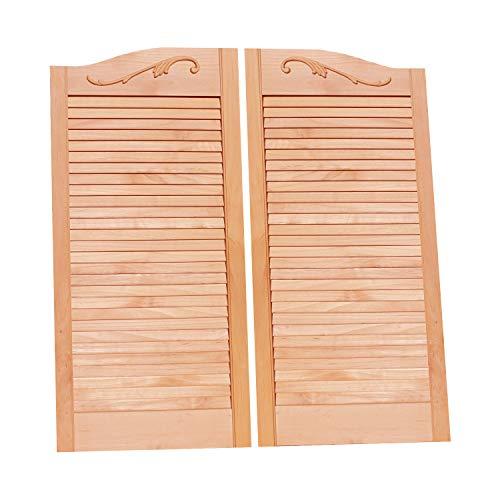 Cafe Doors by Cafe Doors Emporium | Alder Cafe Doors | Prefit for 28