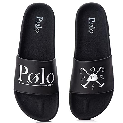 Chinelo Masculino Slide Polo Sandália com sola macia e confortável