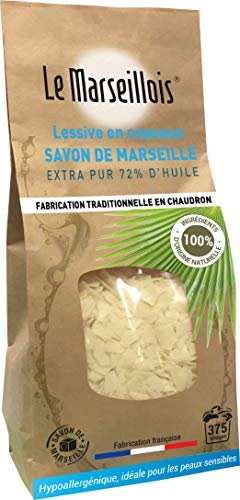 Le marseillois 11480 Savon de Marseille, Incolore, Taille Unique
