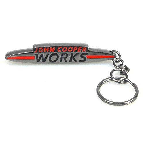 RACEFOXX Schlüsselanhänger, Anhänger, Schlüssel, Autoschlüssel, JCW Design, für Mini Fahrer