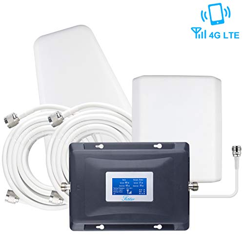 AT&T Verizon Signal Booster 4G LTE Multi Bands Cell Phone Signal Booster for Home 4G Dual 700mhz...
