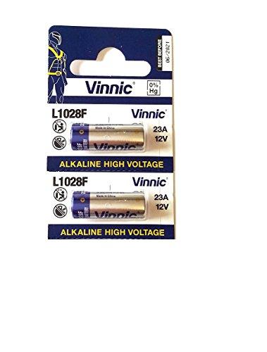 Pile 23A vinnic Haute Voltage 2 pièces 12v