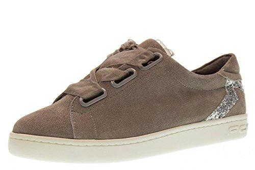 Fornarina Scarpe Donna Sneakers Basse PE18AN2893S006 Taglia 38 Grigio