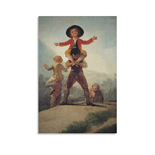 EMIP Póster de Francisco De Goya Pollo Peleas - Caballo Y Jinete Cuadro Cuadro Cuadro Cuadro Cuadro Cuadro Cuadro Cuadro Cuadro Póster Obras de Arte Regalo Sala Estética 40 × 60 cm