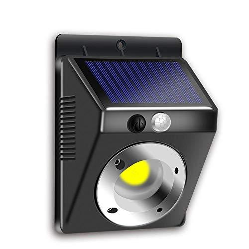 Solar Light Outdoor Wall lamp Human Motion Sensing Lighting Waterproof Applied to Front Door Garage Fence Yard etc.
