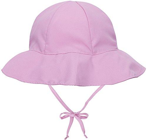 ThunderCloud Kid's 50+ SPF chapéu de sol para bebês com proteção UV e aba larga, rosa, 12-24 Months