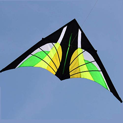 XNJHMS 2.8m New Stunt Power Kite Beautiful and Classic Outdoor Sport Fun Toys Novelty Delta Kite Best Outdoor Activities Develop Social Skills
