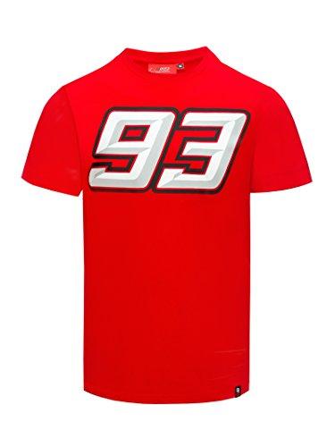 Marc Marquez 2018 Honda MotoGP Heren 93 Logo Sweatshirt Volledige Zip Jumper Jas